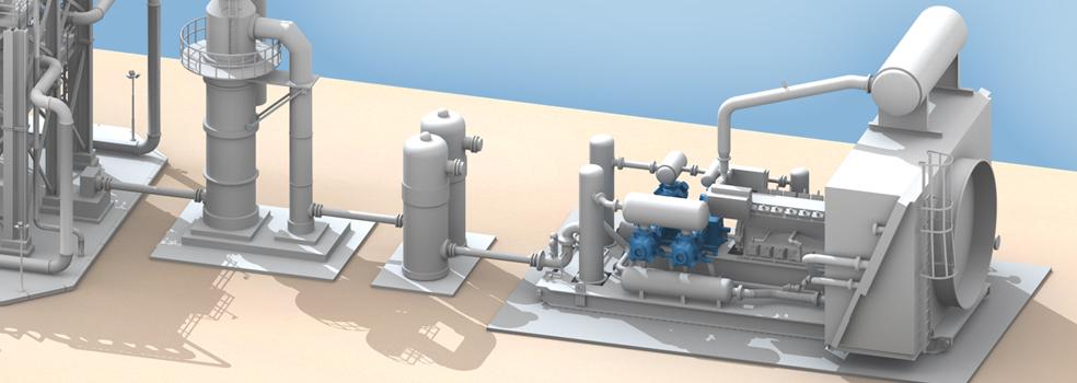 Acid Gas Amp Sour Gas Service Gas Compressor Applications