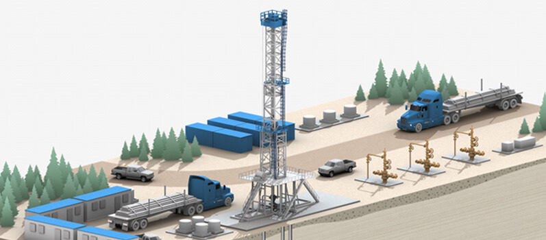 Gas Gathering Slide 1 Graphic