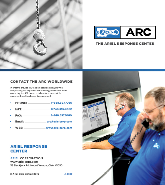 2019 ARC Brochure Cover