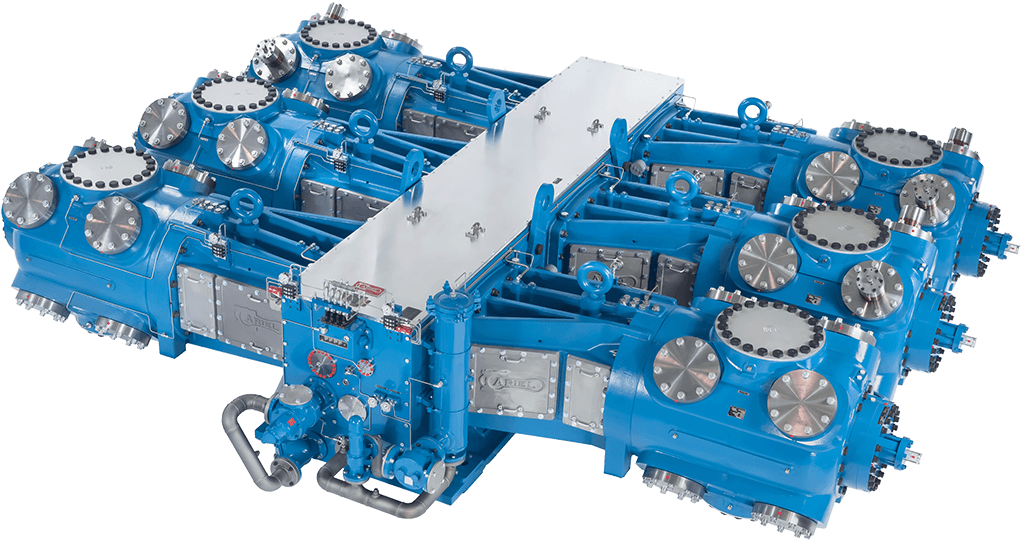 gas compressor. each compressor features a modern, durable design with strengthened internal structure. this family of frames is recommended for use in pipeline gas