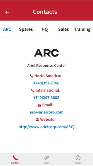 Compressor Selection Mobile App - arielcorp com